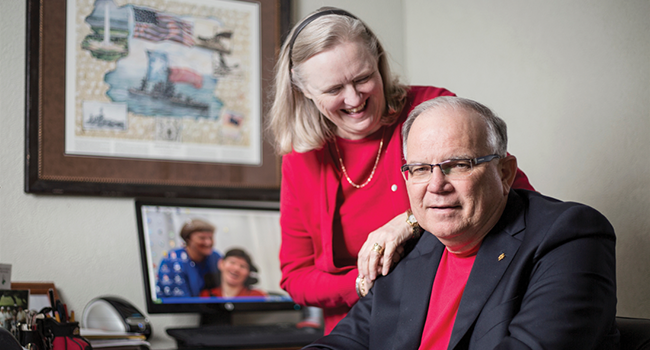 Investing in the Future: Larry ('72) and Kathy ('79) McClaugherty
