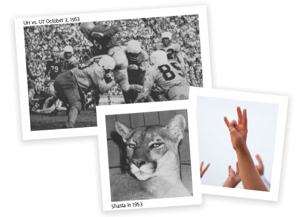 Traditions: The Cougar Hand Sign