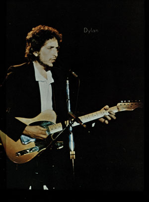 Bob Dylan performs at Hofheinz Pavilion, 1974