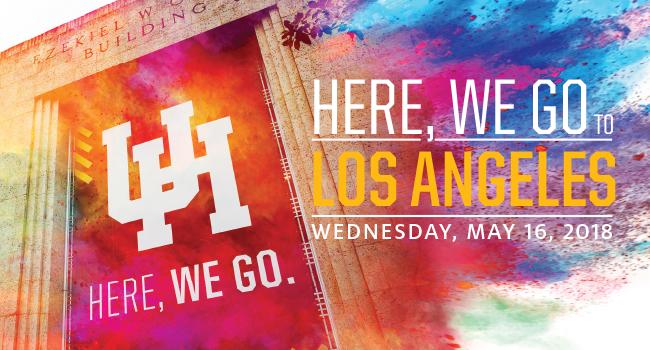 here we go to LA