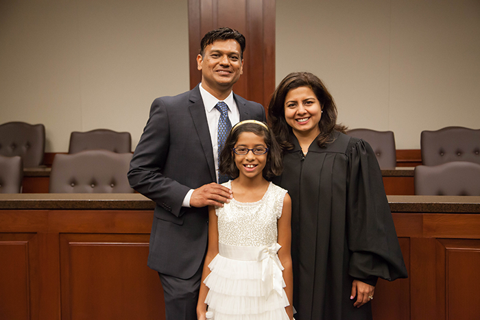 Patel and family