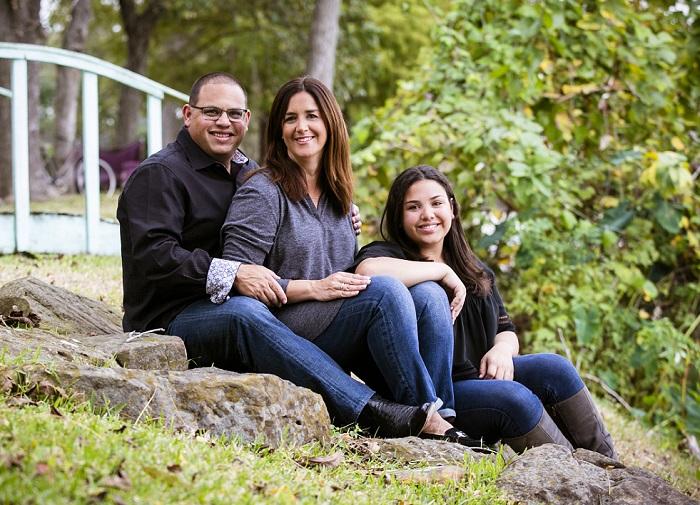 Michael, Lisa and Carlie Sachs