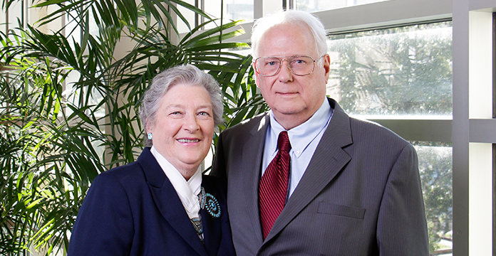 "Dean Dana and Dr. Charles ""Mickey"" Rooks"
