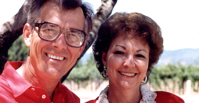 Frank ('60, M.Ed. '64) and Betty Lemmon